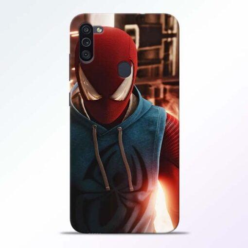 SpiderMan Eye Samsung M11 Mobile Cover - CoversGap