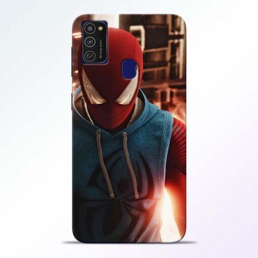 SpiderMan Eye Samsung M21 Mobile Cover