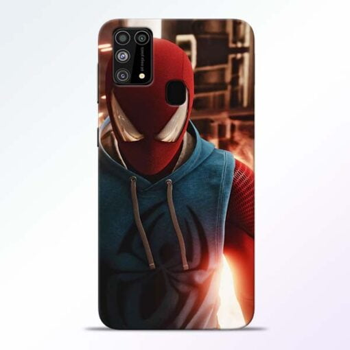 SpiderMan Eye Samsung M31 Mobile Cover