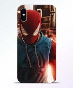 SpiderMan Eye iPhone X Mobile Cover