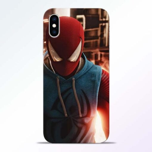 SpiderMan Eye iPhone XS Mobile Cover