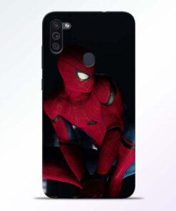 Spiderman Samsung M11 Mobile Cover - CoversGap