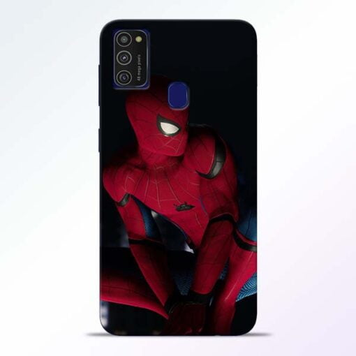 Spiderman Samsung M21 Mobile Cover