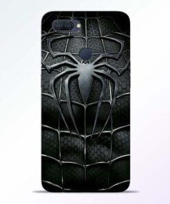 Spiderman Web Oppo A12 Mobile Cover - CoversGap
