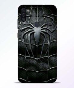 Spiderman Web Samsung M11 Mobile Cover - CoversGap