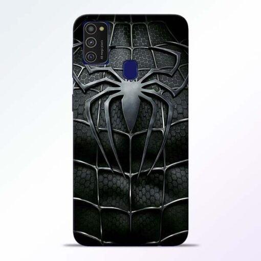 Spiderman Web Samsung M21 Mobile Cover