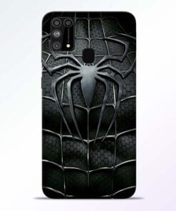 Spiderman Web Samsung M31 Mobile Cover
