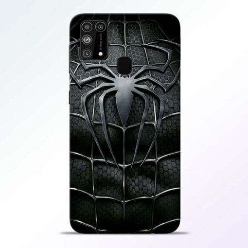 Spiderman Web Samsung M31 Mobile Cover