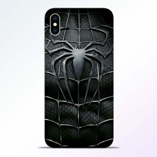 Spiderman Web iPhone XS Max Mobile Cover