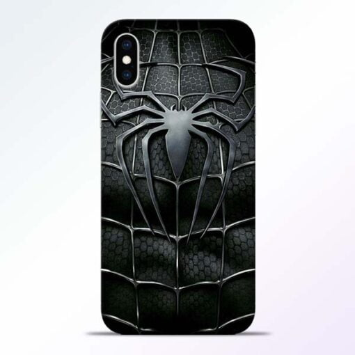 Spiderman Web iPhone XS Mobile Cover