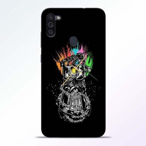 Thanos Hand Samsung M11 Mobile Cover - CoversGap