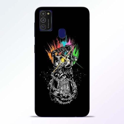 Thanos Hand Samsung M21 Mobile Cover