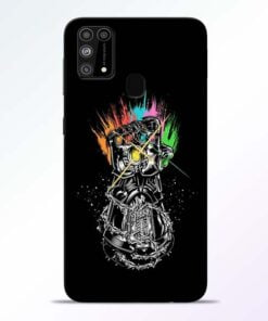 Thanos Hand Samsung M31 Mobile Cover