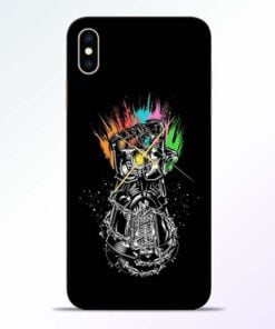 Thanos Hand iPhone XS Max Mobile Cover