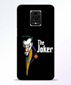 The Joker Face Redmi Note 9 Pro Max Mobile Cover