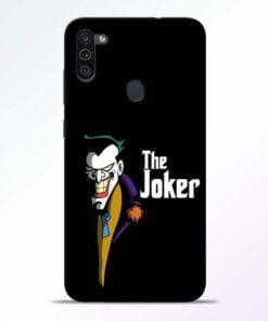The Joker Face Samsung M11 Mobile Cover - CoversGap