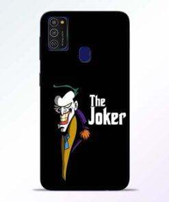 The Joker Face Samsung M21 Mobile Cover