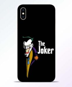 The Joker Face iPhone XS Max Mobile Cover