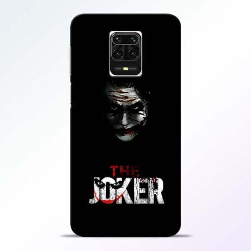 The Joker Redmi Note 9 Pro Max Mobile Cover