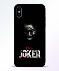 The Joker iPhone X Mobile Cover