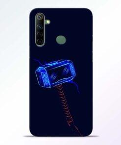 Thor Hammer Realme 6i Mobile Cover - CoversGap