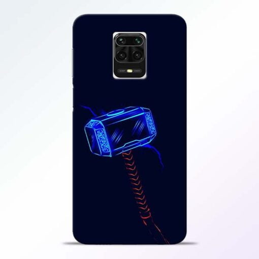 Thor Hammer Redmi Note 9 Pro Max Mobile Cover
