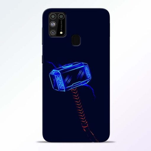 Thor Hammer Samsung M31 Mobile Cover