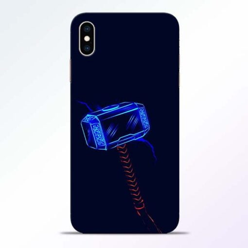 Thor Hammer iPhone XS Max Mobile Cover