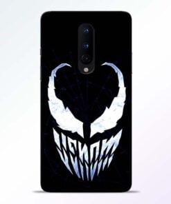 Venom Face OnePlus 8 Mobile Cover