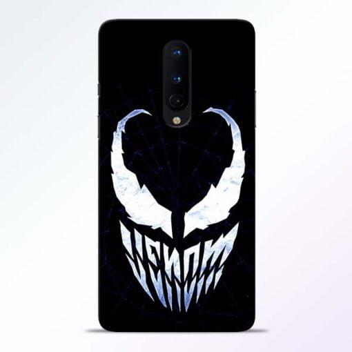 Venom Face OnePlus 8 Mobile Cover