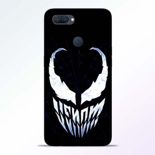 Venom Face Oppo A12 Mobile Cover - CoversGap
