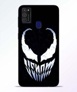 Venom Face Samsung M21 Mobile Cover