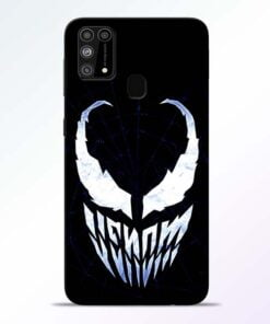 Venom Face Samsung M31 Mobile Cover