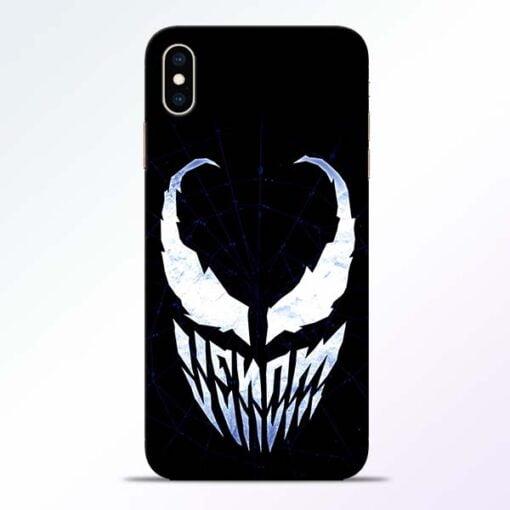 Venom Face iPhone XS Max Mobile Cover