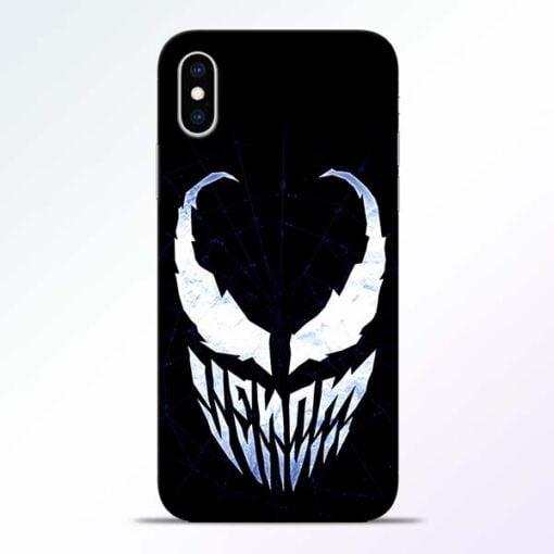 Venom Face iPhone XS Mobile Cover