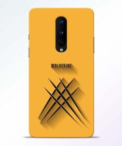 Wolverine OnePlus 8 Mobile Cover