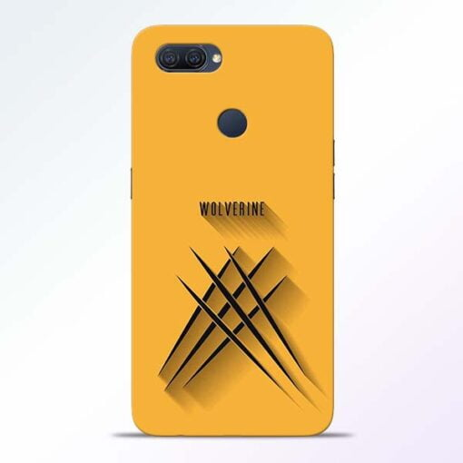 Wolverine Oppo A12 Mobile Cover - CoversGap