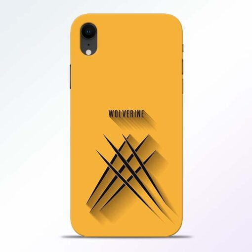 Wolverine iPhone XR Mobile Cover