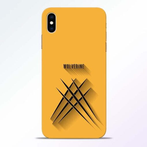 Wolverine iPhone XS Max Mobile Cover