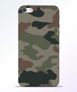 Army Camouflage iPhone 5s Mobile Cover