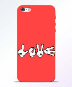 Love Symbol iPhone 5s Mobile Cover