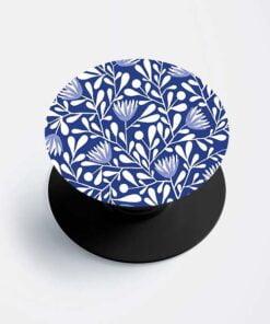 Blue Floral Popsocket
