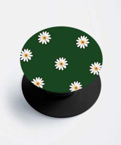 Green Floral Popsocket