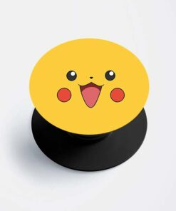 Pikachu Face Popsocket