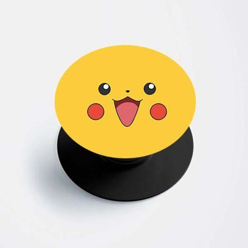 Pikachu Face Popsocket