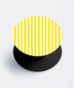 Yellow Stripe Popsocket