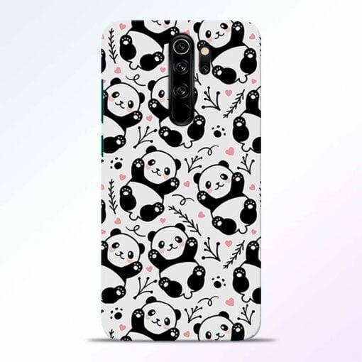 Adorable Panda Redmi Note 8 Pro Back Cover