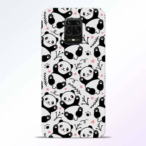 Adorable Panda Redmi Note 9 Pro Back Cover