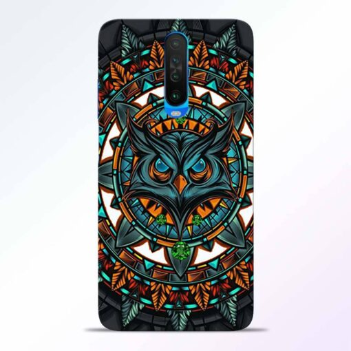 Angry Owl Poco X2 Back Cover