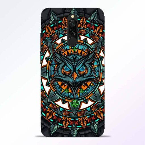 Angry Owl Redmi 8 Back Cover